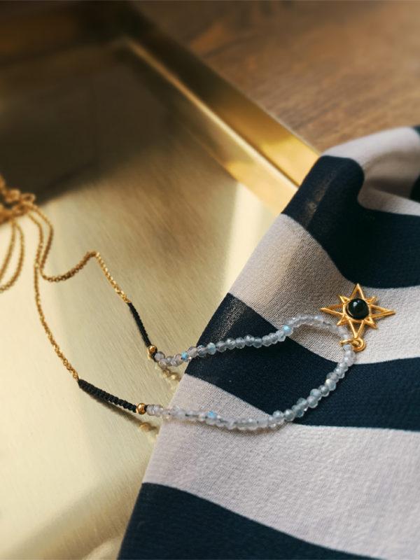 Autorski naszyjnik The Birth of The First Star Iluzja Jewellery