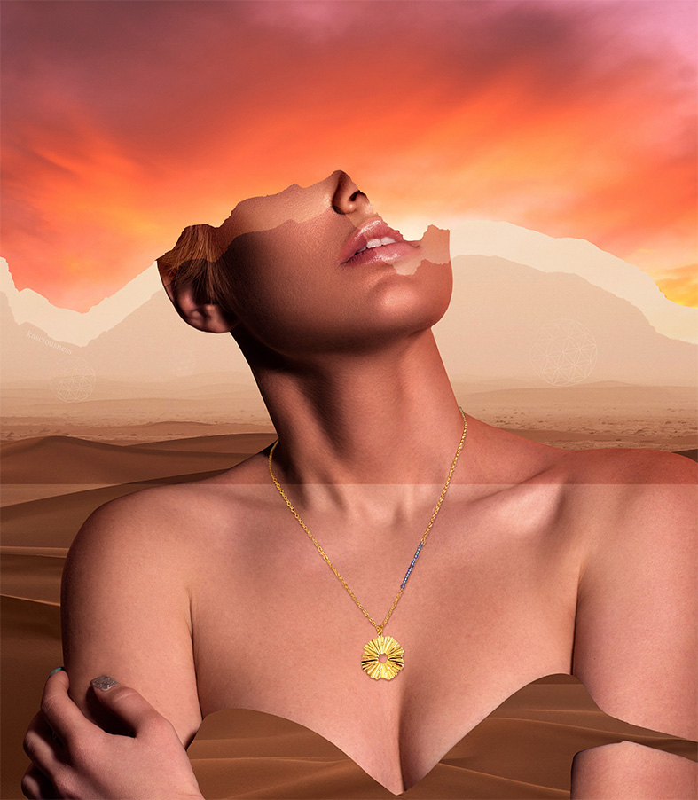 oryginalna biżuteria Sun of Lemuria - Iluzja Jewellery