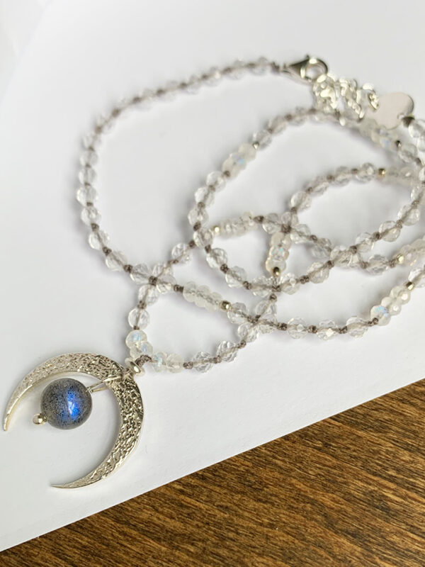 Naszyjnik srebrny Mystic Moon Silver_Iluzja Jewellery