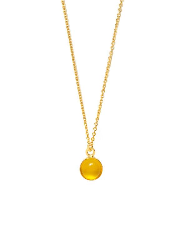 łancuszek z kamieniem jelly iluzja jewellery