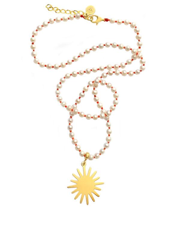 naszyjnik z pereł sunrise