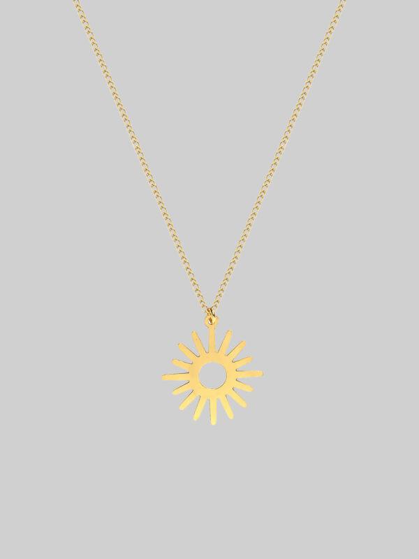 Łańcuszek ze słońcem Simply Sun Iluzja Jewellery