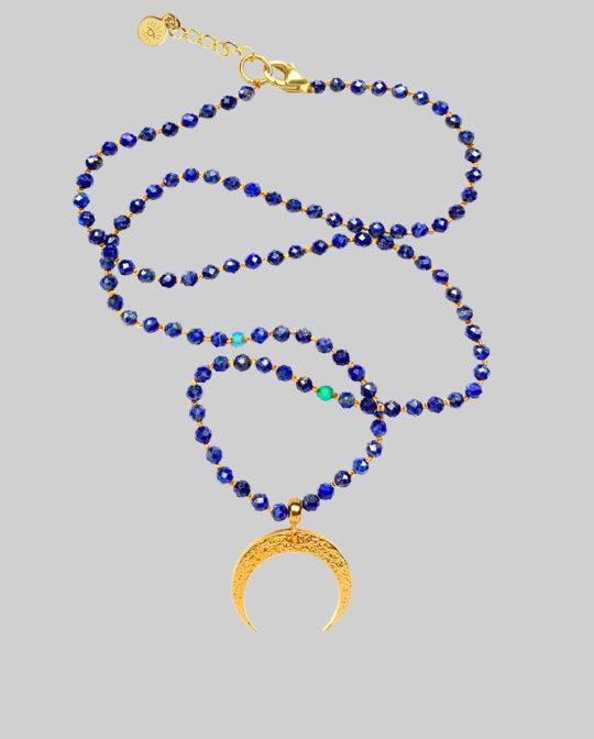 Naszyjnik niebieski księżyc Divine Moon