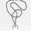 Naszyjnik z sercem i księżycem Desire Moon Iluzja Jewellery
