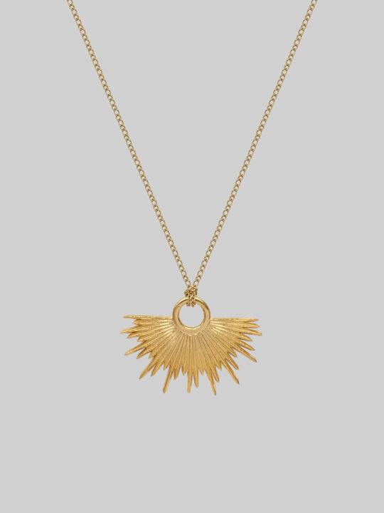 naszyjnik gwiazda sirius gold iluzja jewellry