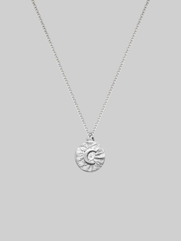 srebrny księżyc