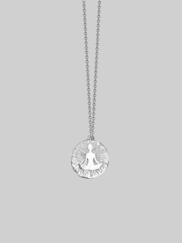 naszyjnik joga asana iluzja jewellery
